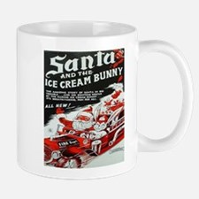 Cute Christmas bunny Mug
