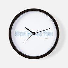 Cute Bless Wall Clock