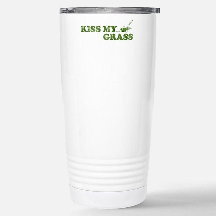 Cute Lawn service Travel Mug