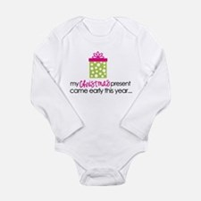 Funny Going to be a big sister Long Sleeve Infant Bodysuit