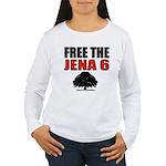 #4 Free the Jena Six Women's Long Sleeve T-Shirt