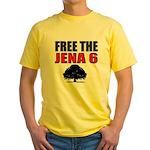 #4 Free the Jena Six Yellow T-Shirt