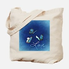 Unique Navy valentine Tote Bag