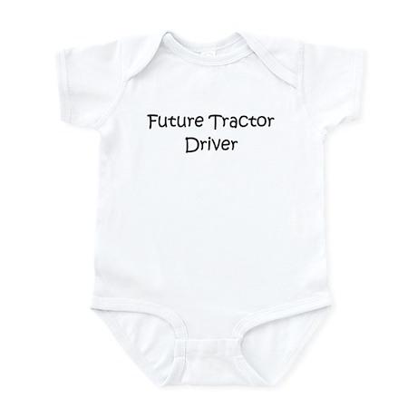 Future Tractor Driver Infant Bodysuit