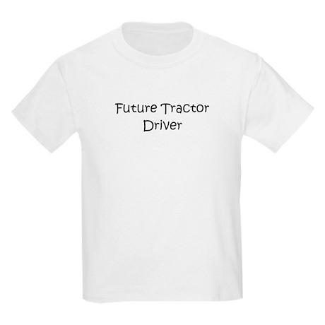 Future Tractor Driver Kids Light T-Shirt