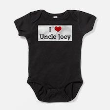 Funny Uncle joey Baby Bodysuit