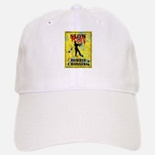 RUN Zombie Crossing Baseball Baseball Baseball Cap