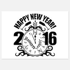 Happy 2016 Invitations