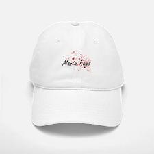 Manta Rays Heart Design Baseball Baseball Cap