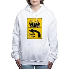 Unique Quads Women's Hooded Sweatshirt