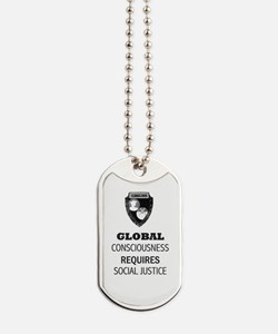Cute Social justice Dog Tags