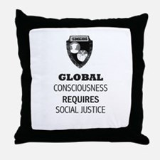 Unique Social justice Throw Pillow