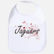 Jaguars Heart Design Bib
