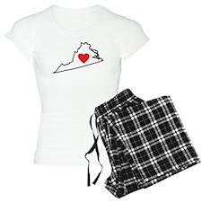 I Love Virginia Pajamas
