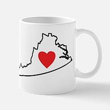 I Love Virginia Mug