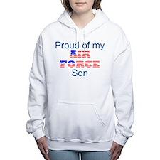 Cute Us air force Women's Hooded Sweatshirt
