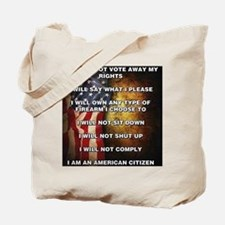 I Am An American Citizen Tote Bag