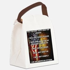 I Am An American Citizen Canvas Lunch Bag