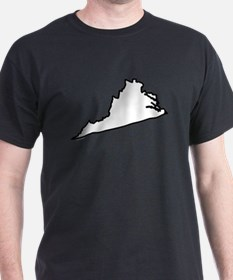 Virginia State Outline T-Shirt