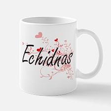Echidnas Heart Design Mugs