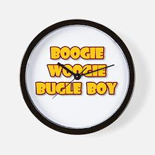 BOOGIE WOOGIE BUGLE BOY.png Wall Clock