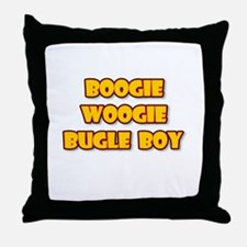 BOOGIE WOOGIE BUGLE BOY.png Throw Pillow
