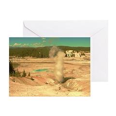 AFTM Hot Water Geyser D.R. Th Greeting Cards (Pk o