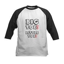BIG TOE - LITTLE TOE! Baseball Jersey