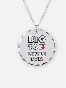 BIG TOE - LITTLE TOE! Necklace