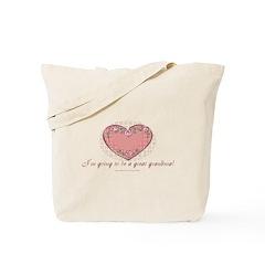 Great Grandma 2 Be Tote Bag