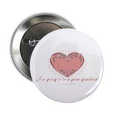 """Great Grandma 2 Be 2.25"""" Button (100 pack)"""