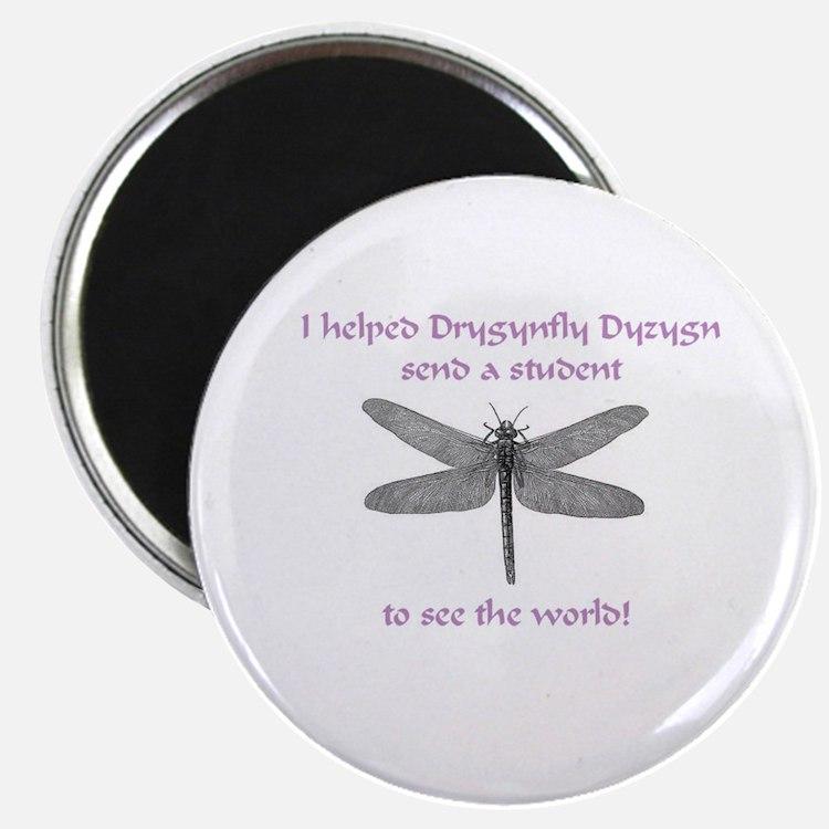 "Dragonfly Pride 2.25"" Magnet (10 pack)"