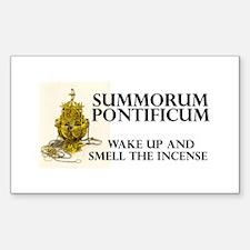 Summorum pontificum Rectangle Bumper Stickers