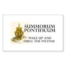 Summorum pontificum Rectangle Decal