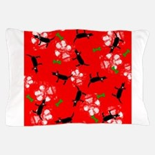 Dogs on Paws Christmas! Pillow Case