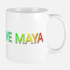 Peace Love Maya Mugs