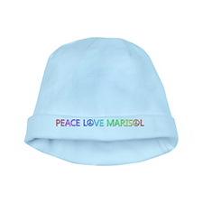 Peace Love Marisol baby hat