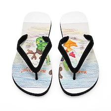 Pepe Quackamole Holiday (2015) Flip Flops