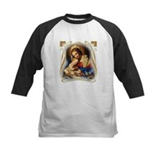 Mary was Pro-Life (square) Baseball Jersey