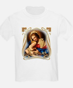 Mary was Pro-Life (square) T-Shirt