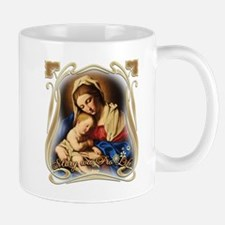 Mary was Pro-Life (square) Mugs