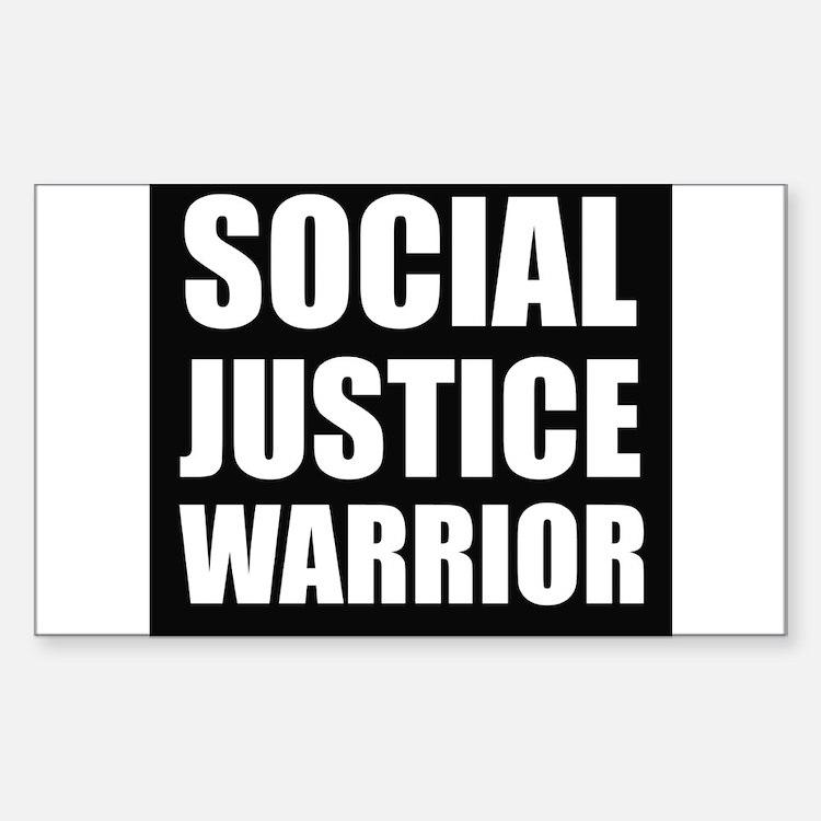 Social Justice Warrior Decal