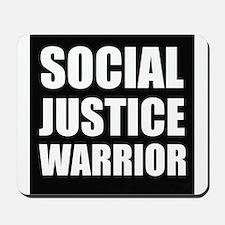 Social Justice Warrior Mousepad