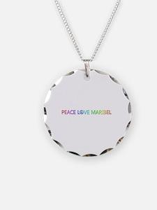Peace Love Maribel Necklace