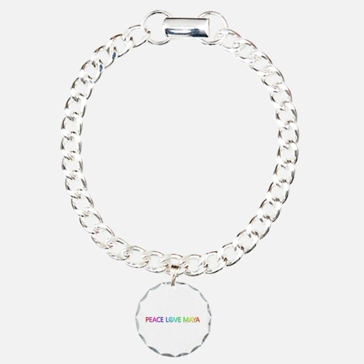 Peace Love Maya Bracelet