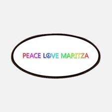 Peace Love Maritza Patch