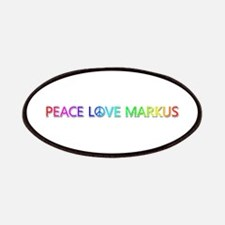 Peace Love Markus Patch