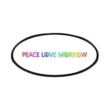Peace Love Morrow Patch