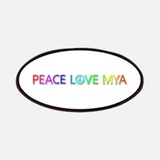 Peace Love Mya Patch