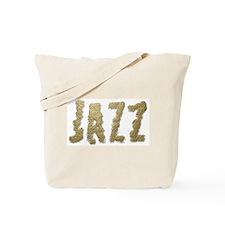 Abraded Jazz Tote Bag